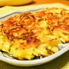カリッとホクホク!キャベツとジャガイモのチーズ焼き