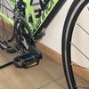 ロードバイク ペダルを交換