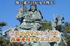 強い者だけが生き残る!戦国時代を始めた武将・北条早雲に学ぶ成功術