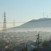 熊野の町も朝は霞んでて