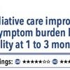 ACPJC:Therapeutics 生命予後が限られた疾患患者で、緩和ケア介入は1-3ヶ月後のQOLと症状負担を軽減するが死亡率には影響しない