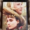 映画ブルーレイ購入記:「キャロル」