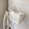 狭い&収納なしの洗面所。ゴミ箱はどこに置く?