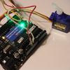 Arduinoを使ってサーボモーターを制御してみよう。