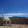 ツアーに参加せず恐竜の足跡を探す難しさ