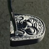 kawara putter project -銀古美 antique smoked silver-