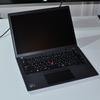 液晶のアスペクト比が16:10になったThinkPad X13 Gen2(AMD)が納品!