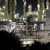 富士工場夜景(3):ポリプラスチックス富士工場,2020年の姿。