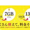 NifMoが月間データ通信量を増量! 更にキャンペーンで+1GB !?