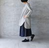 【別注】ambience tote × sabbatum ノーカラーシャツワンピース