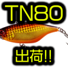 【ジャッカル】シリーズ最大サイズのビッグバスに照準を絞ったバイブレーション「TN80」通販サイト入荷!