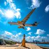 プーケット飛行機ビーチでフォトシューティング