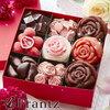 すべての女性へ✿綺麗なローズの花が咲くスイーツ宝石箱♡