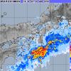 四国・紀伊半島で激しい雨!