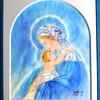 額装:聖母の御子
