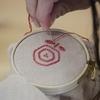 赤ちゃんの健康を願って背守り刺繍ワーク💛おんぶで出来る趣味を見つけてみませんか。