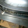 1971 マスタングマッハ1 クォーターポスト表板8 フランジ部溶接