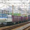 5月25日撮影 東海道線 平塚~大磯間 貨物列車 ③ 2079ㇾは金太郎1号機