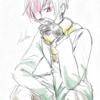 ピンク髪のお兄さん