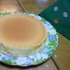 息子の誕生日ケーキ!オイラが手作りでスフレチーズケーキをこしらえたのだ!