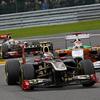 F1第12戦ベルギーGP、V.ペトロフ、9位入賞。 B.セナは13位。