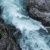 湯来町を流れる川