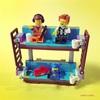 【レゴ遊び】レゴムービー2のミニフィグでミニビルド♪