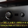 1年使って感じた力強さと表現力のある音質 DENON PMA-A110をレビュー