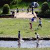 相模川自然の村、''水遊び''も楽しめます!