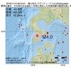 2016年11月12日 06時43分 檜山地方でM4.0の地震
