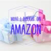 【アメリカAmazon】寝ホンとマタニティートレンカを購入。