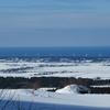 ◆2/3      鳥海山二ノ滝の氷柱を観に②…なかなか進まない。