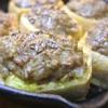 栃尾揚げのひき肉詰