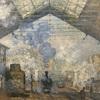 【作品・その3】クロード・モネ「サン=ラザール駅」(1877) オルセー美術館(2020/4/19記述)