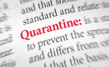 quarantineの意味は「検疫」?「隔離」?【ニュースな英語】
