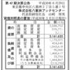株式会社八重洲ブックセンター 第42期決算公告