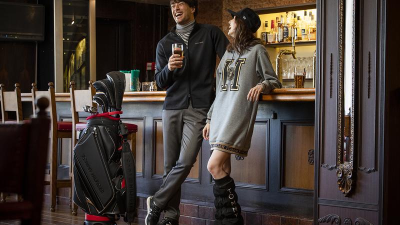 STAY WITH GOLF! 遊びゴコロあるスタイルでゴルフウェアにオトナの余裕を