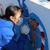 6年:住民広場壁画制作 クラブ⑩