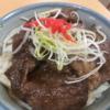 亀山PA上り線では松阪肉牛丼を食べることができる