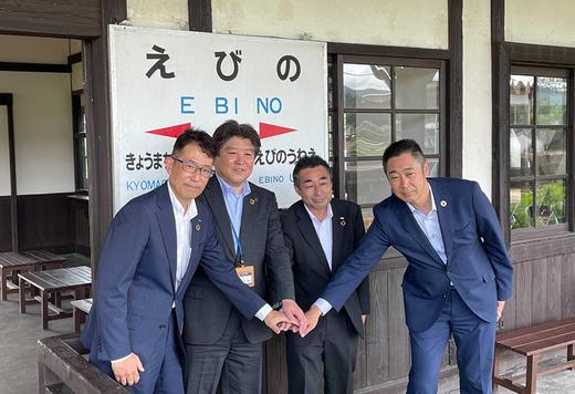 地域のデジタルデバイド解決への一歩。宮崎県えびの市に通信キャリア3社の臨時ショップを開設