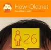 今日の顔年齢測定 322日目