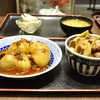 豊洲の「米花」で鴨丼、肉じゃが。