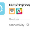 Notification Groups: set notification targets for individual services and monitors. Other updates