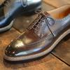 Sewn shoe-maker×RENDO のコラボレーションシューズ