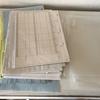 子供の卒業式が終わったら学校の書類は即断捨離で、次の入学に備える。