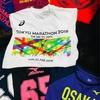 フルマラソン 参加Tシャツ。