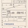 津軽鉄道の補充券