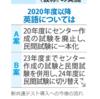 2020年の英語科目最新情報!!