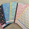 最近のノート5冊セットはオシャレ☆