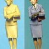 """マスターボックス1/35 """"Women at War: Germany, Luftwaffe Helferinnen"""" act.1"""